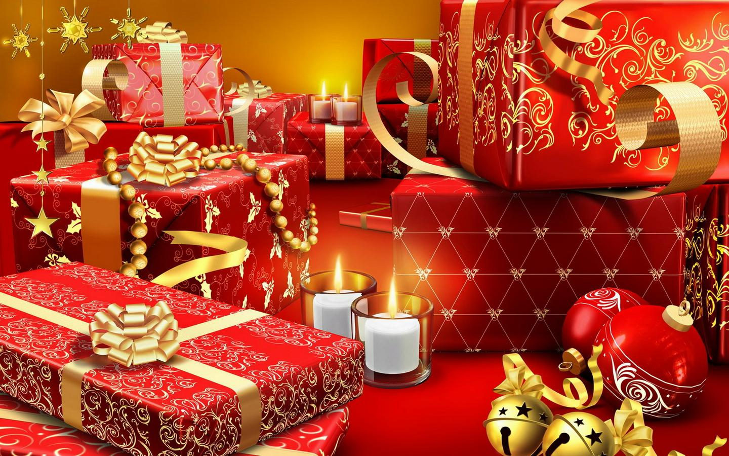 Merry Christmas Holiday 2014 Background