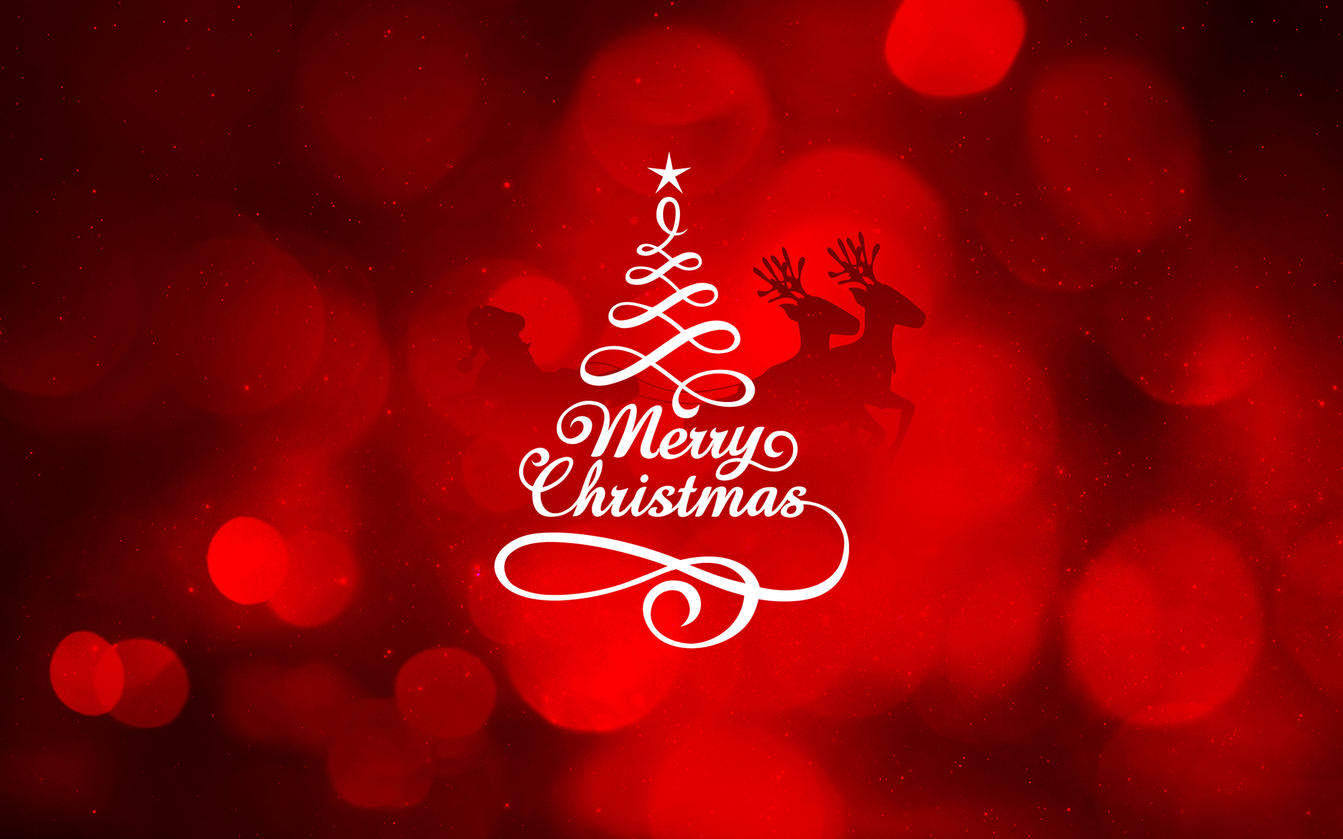 Merry Christmas Wallpaper Background HD
