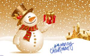 Merry Christmas Wallpaper Desktop Widescreen 2014