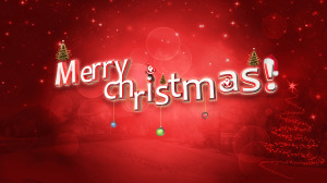 Merry Christmas Wallpaper Red Color