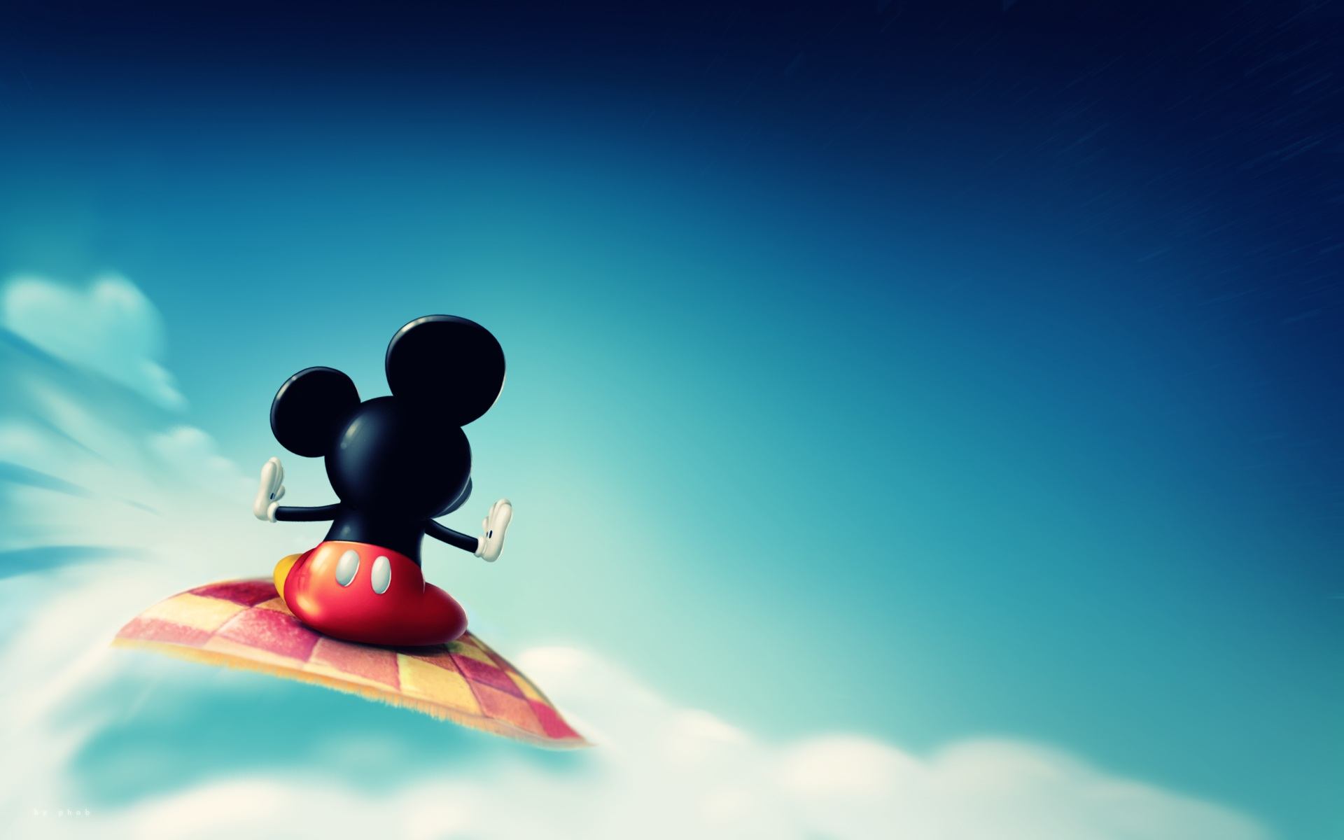 Mickey Mouse Cute Wallpaper 9608 Wallpaper  WallDiskPaper