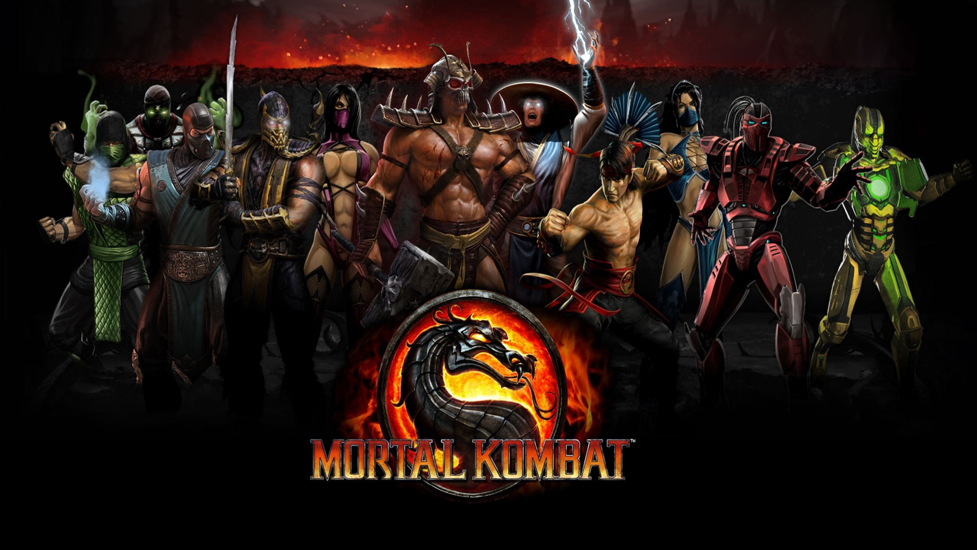 Mortal Kombat Wallpaper Games Computer