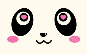 Panda Face Wallpaper Cute