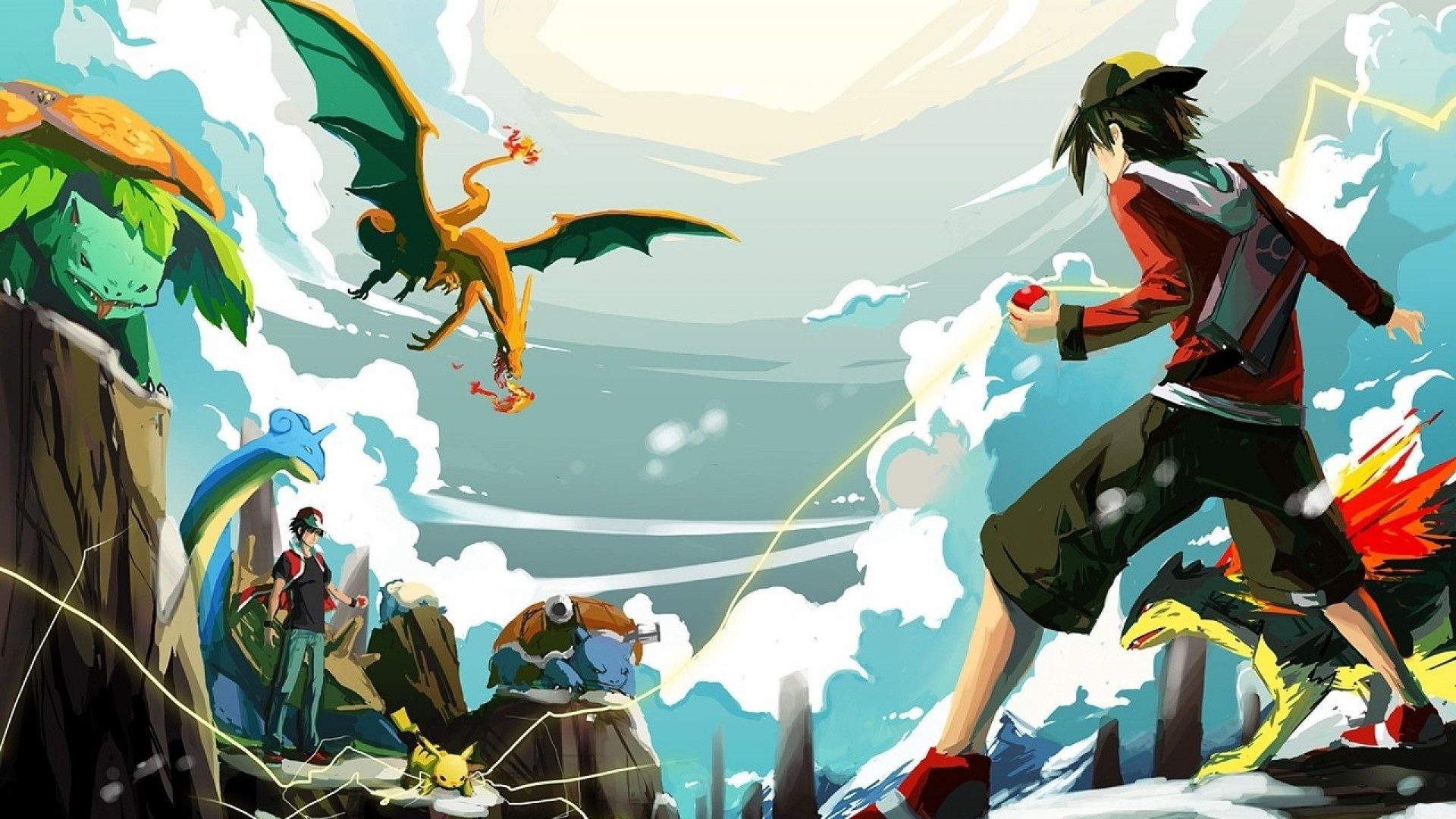 Pokemon Wallpaper Widescreen Legendary