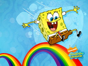 Rainbow Spongebob Wallpapers