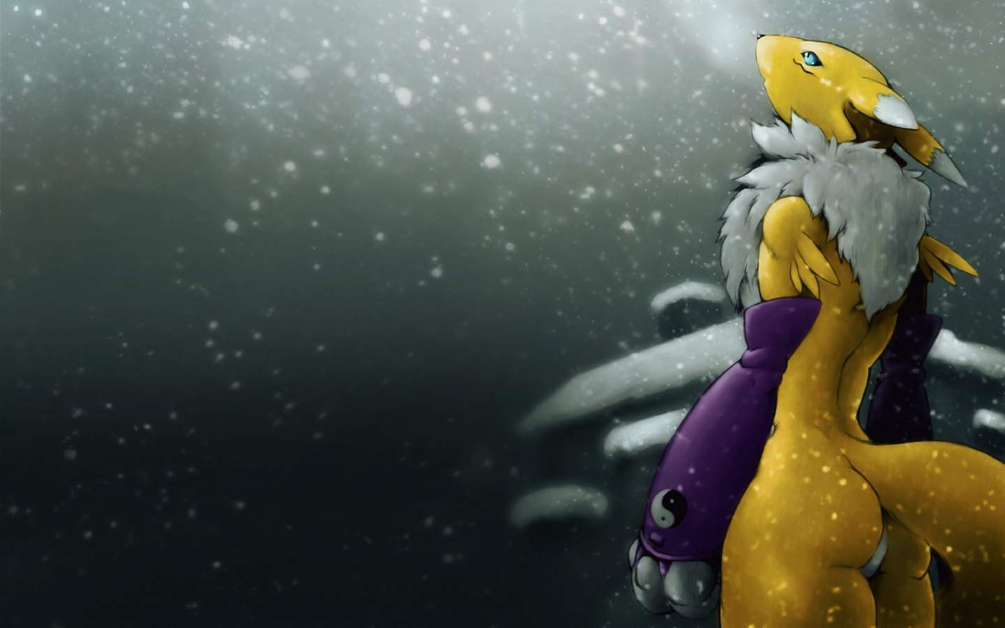 Renamon Wallpaper Digimon
