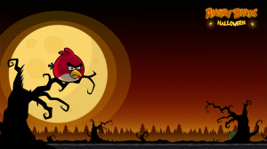 Rovio Angry Bird Halloween Wallpapers
