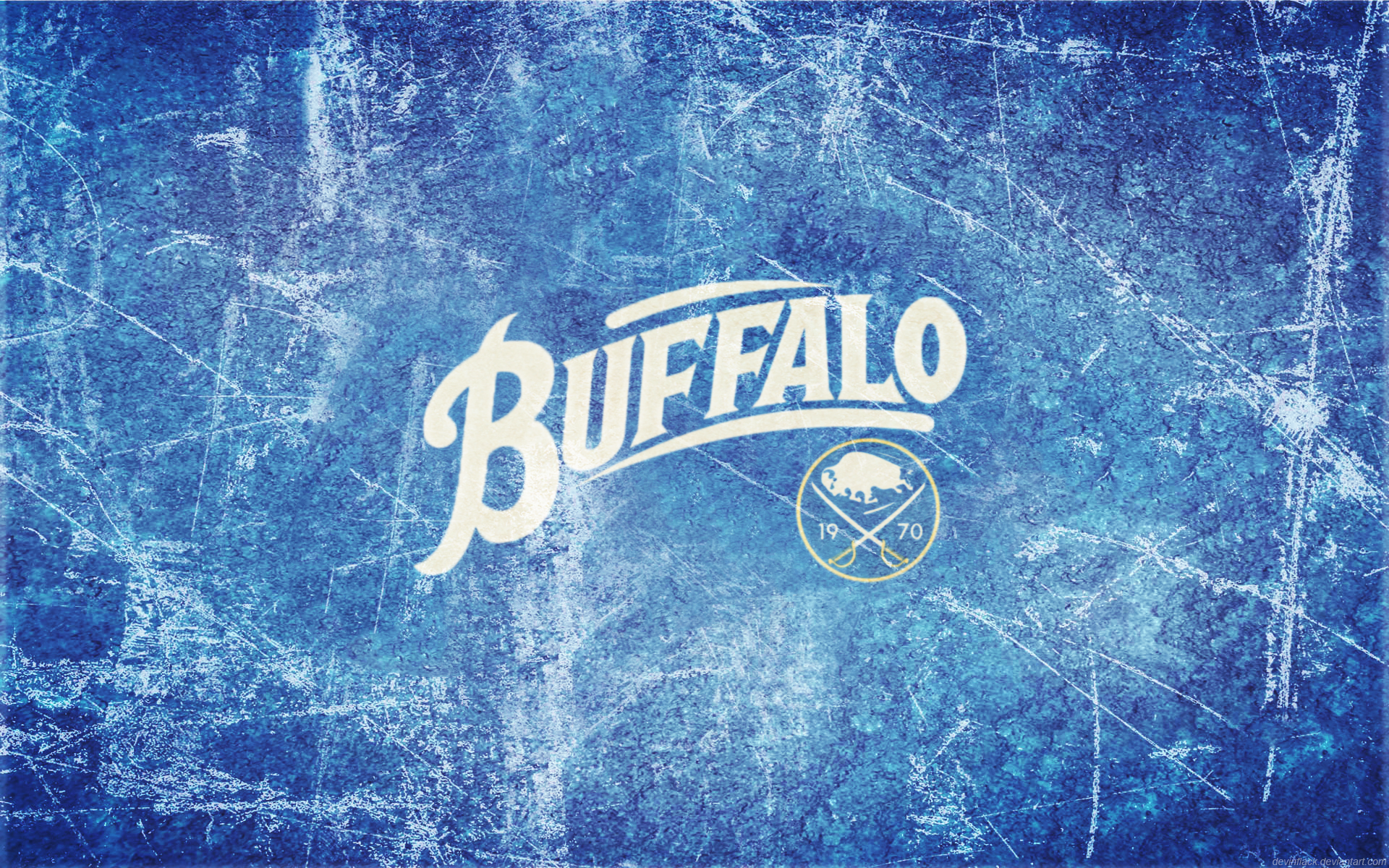 Sabres 40th Ice Wallpaper HD