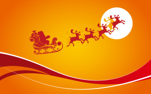 Santa Claus Cartoons Wallpaper Free