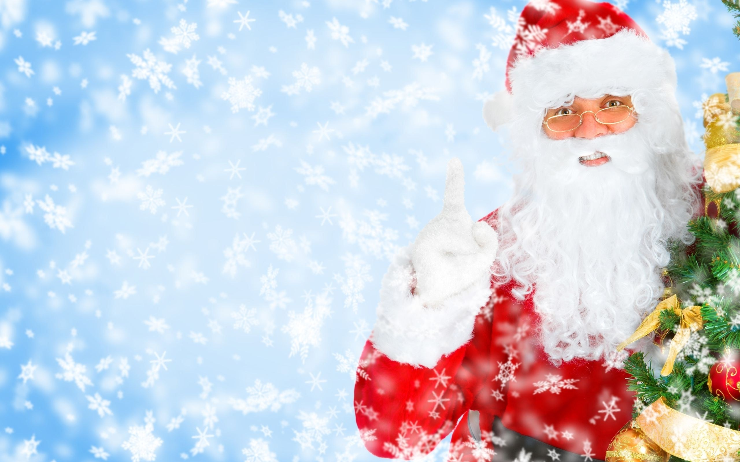 Santa Claus Christmas Wallpaper Laptop