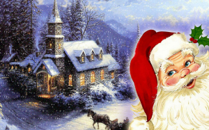 Santa Claus Red Wallpapers
