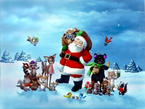 Santa Claus Wallpaper Desktop HD