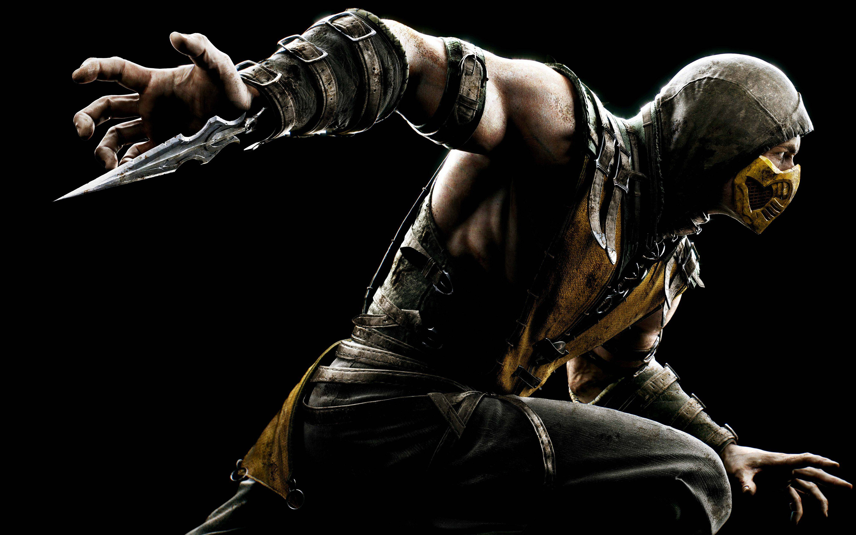 Scorpion Mortal Kombat Wallpapers HD