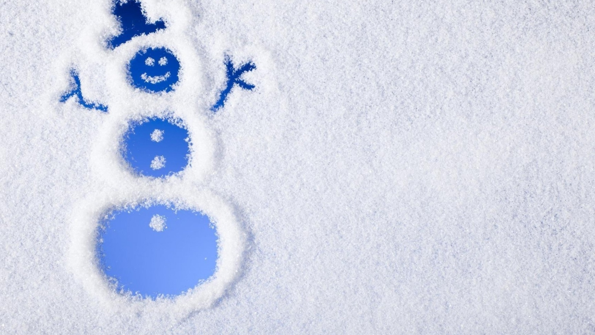 Snow Man Wallpaper High Definition
