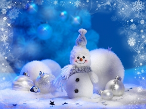 Snowman Cute Wallpaper Image HD