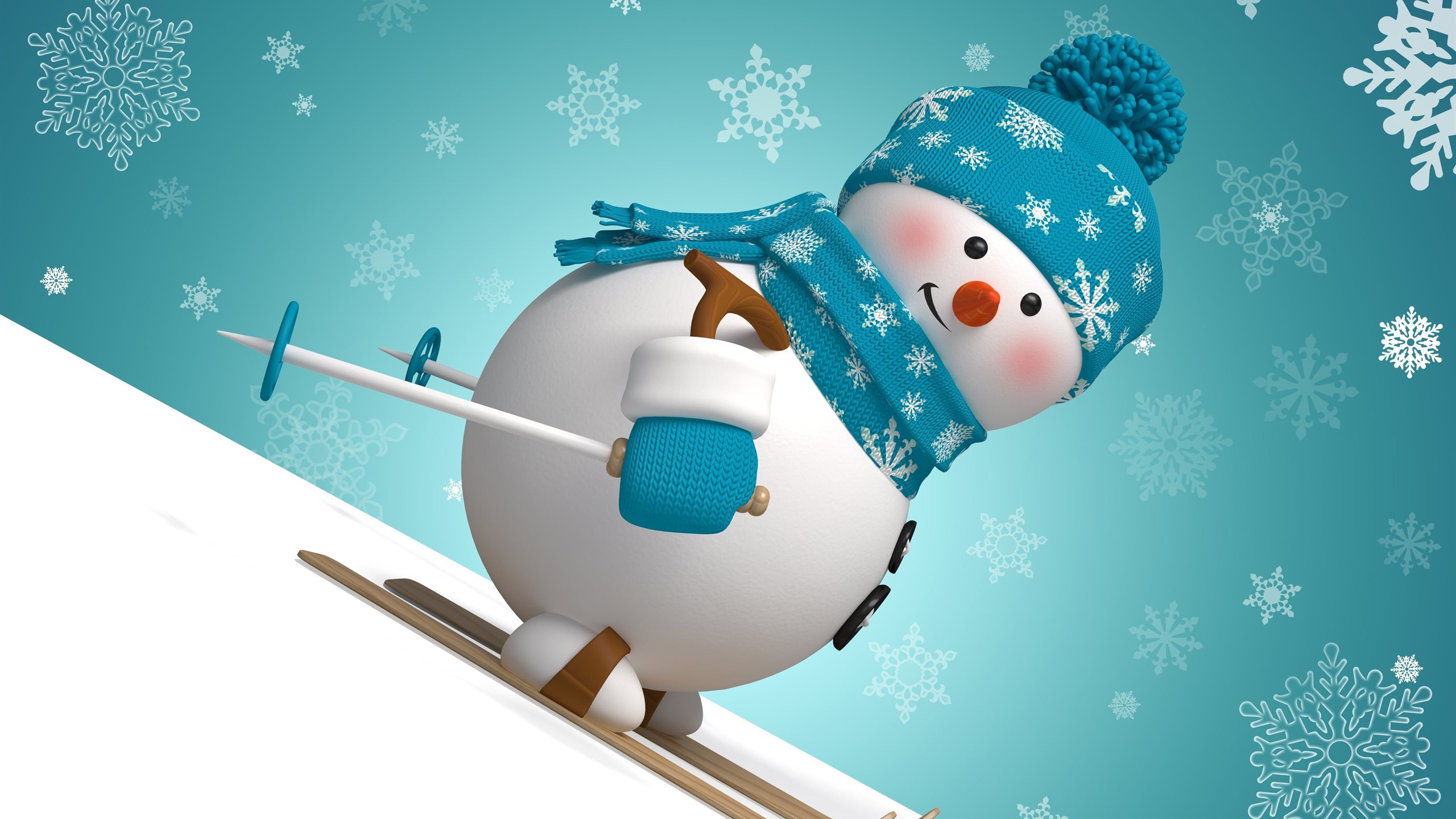 Snowman Wallpaper Desktop Computer HD