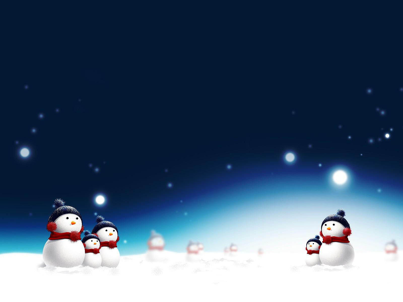 Snowman Wallpaper Free Download