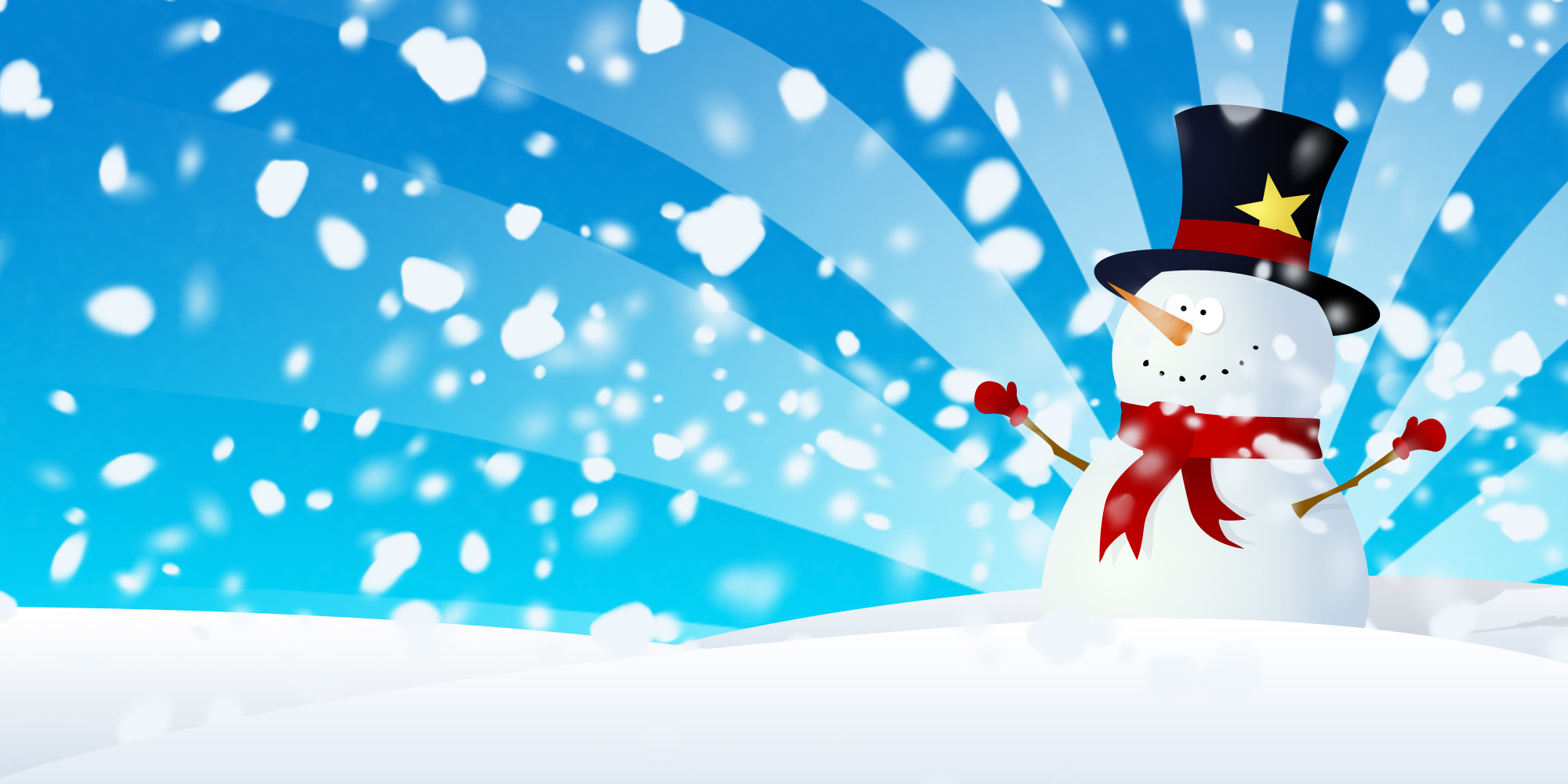 Snowman Wallpaper Fullscreen HD