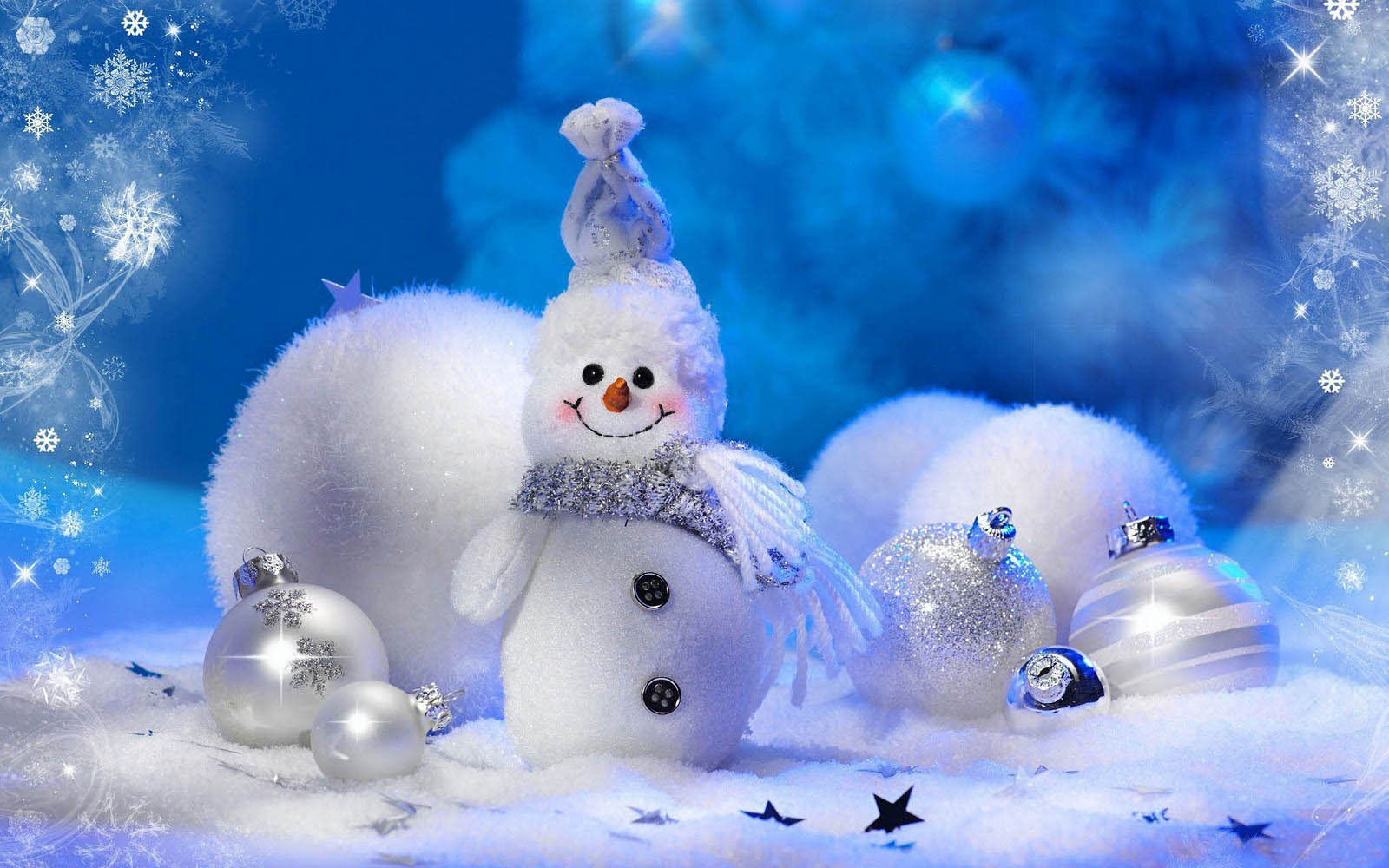 Snowman Wallpaper HD Desktop