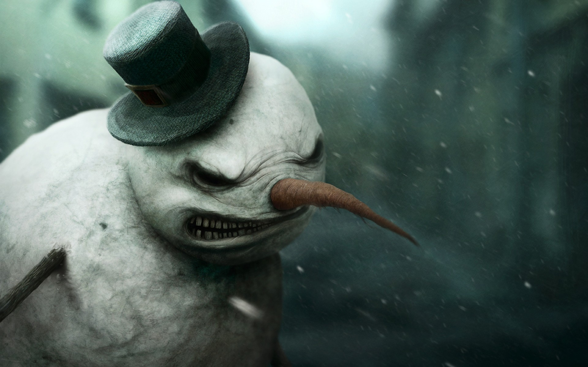 Snowman Wallpaper High Quality