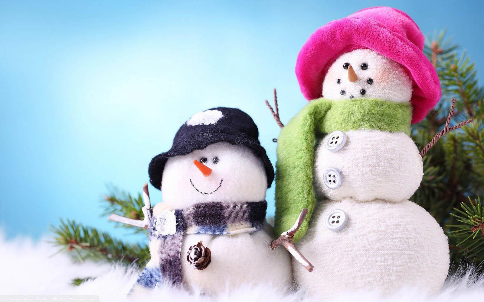 Snowman Wallpaper Image Picture