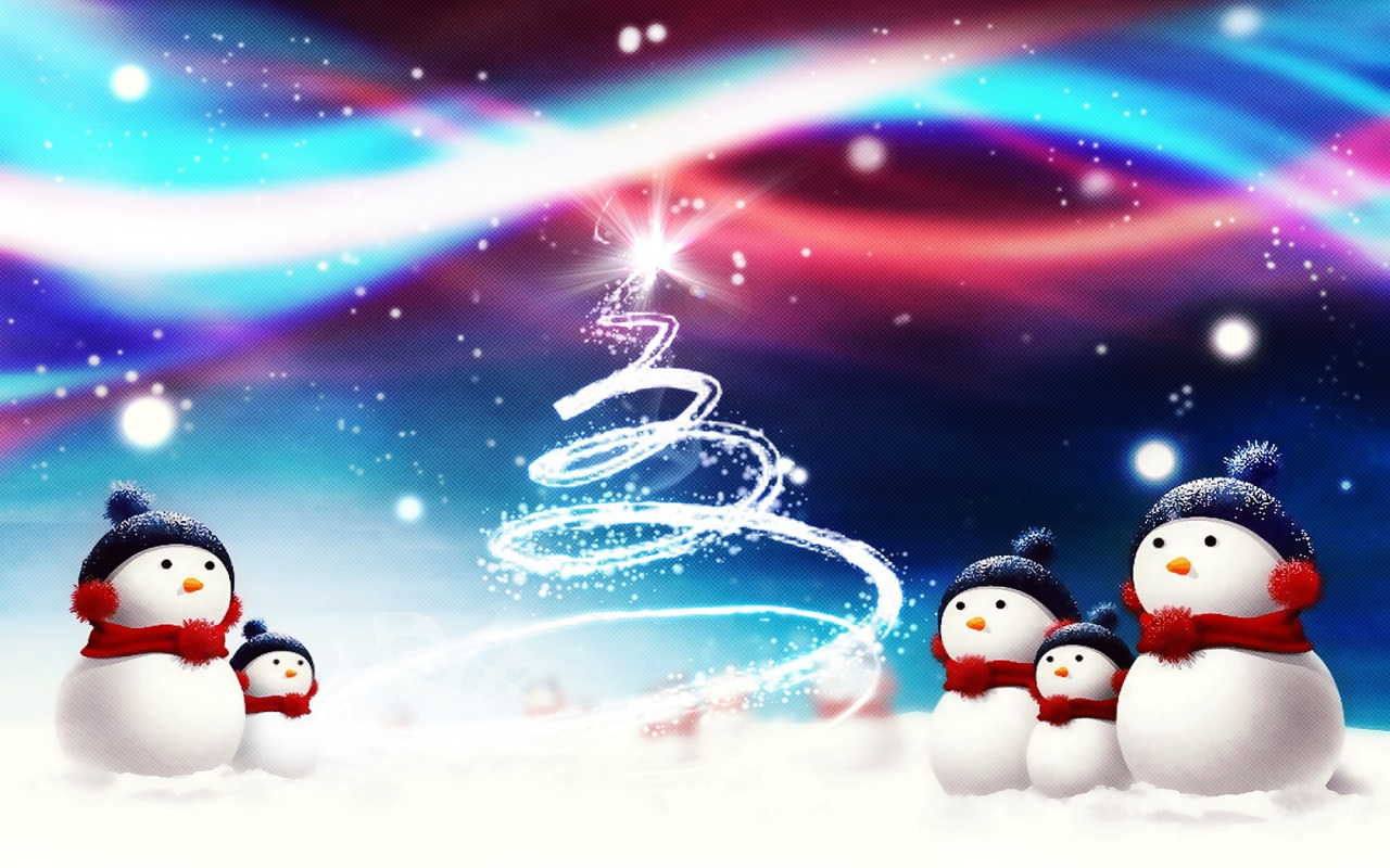 Snowman Wallpaper Screensaver 2014