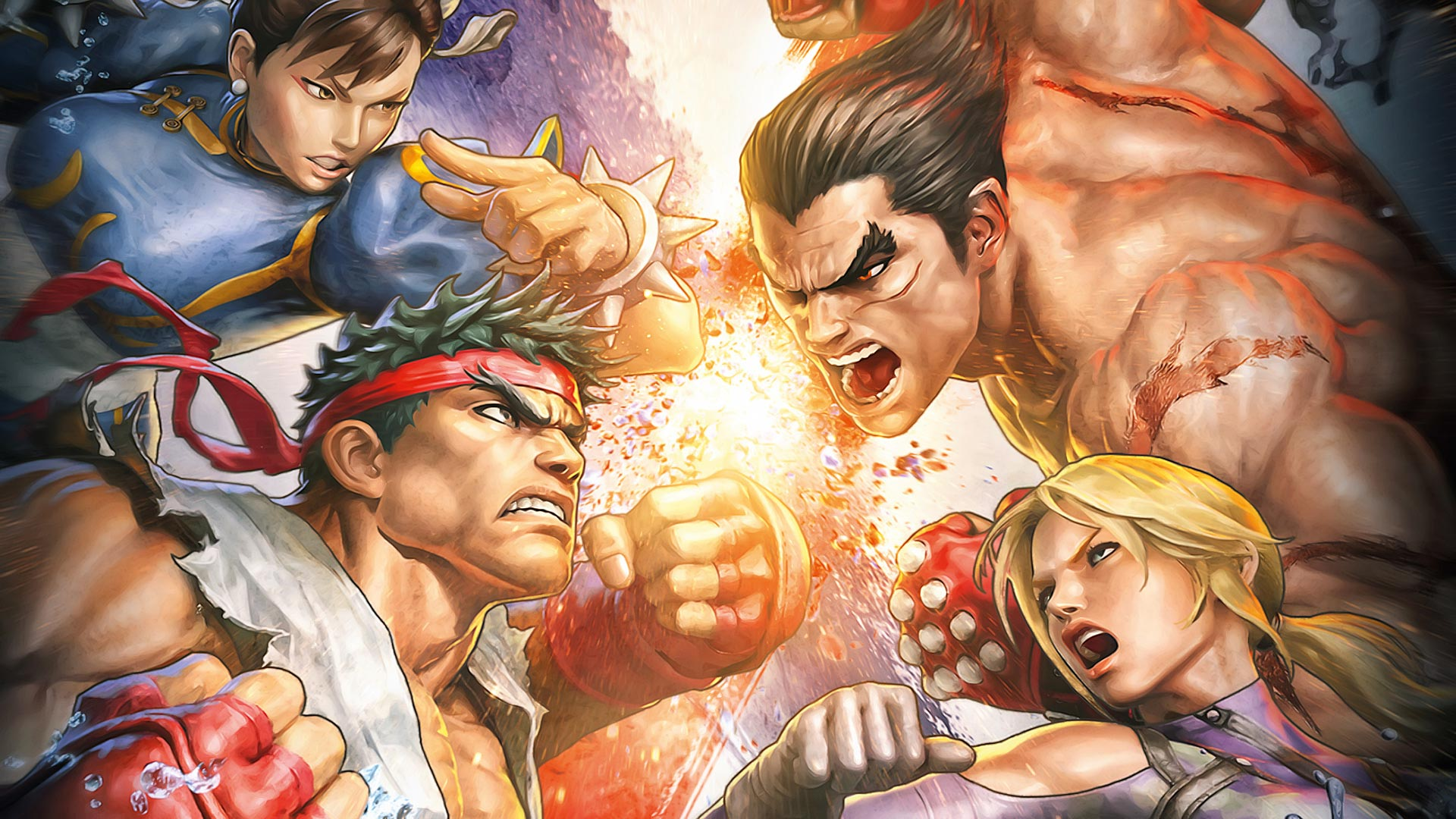 Street Fighter X Tekken Wallpapers