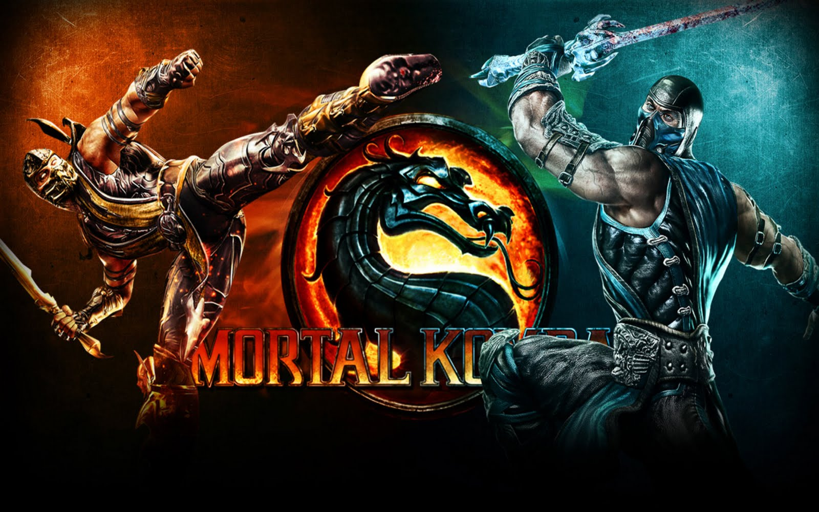 Sub Zero Wallpaper Mortal Kombat Desktop Walldiskpaper
