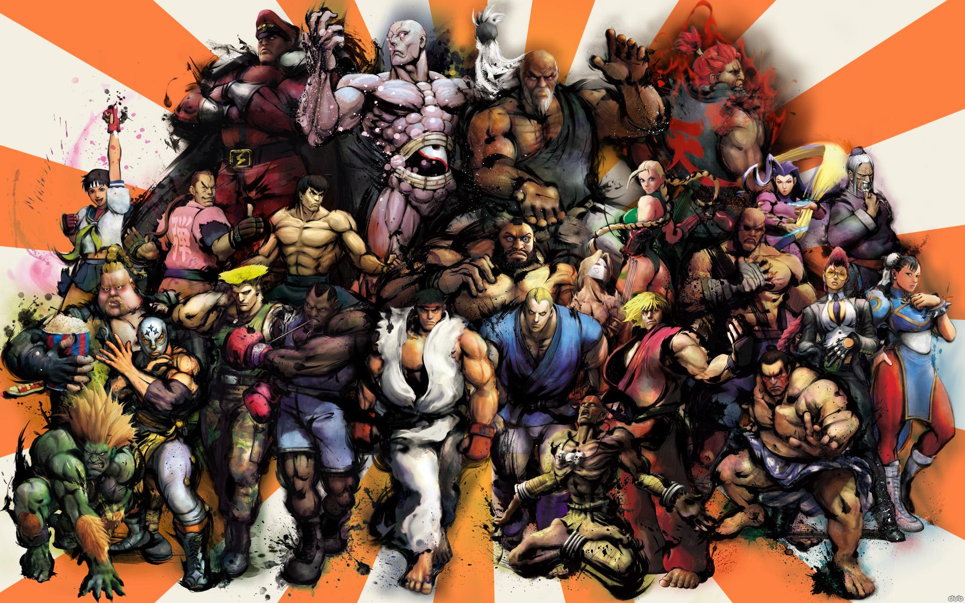 Super Street Fighter IV Wallpaper High Quality