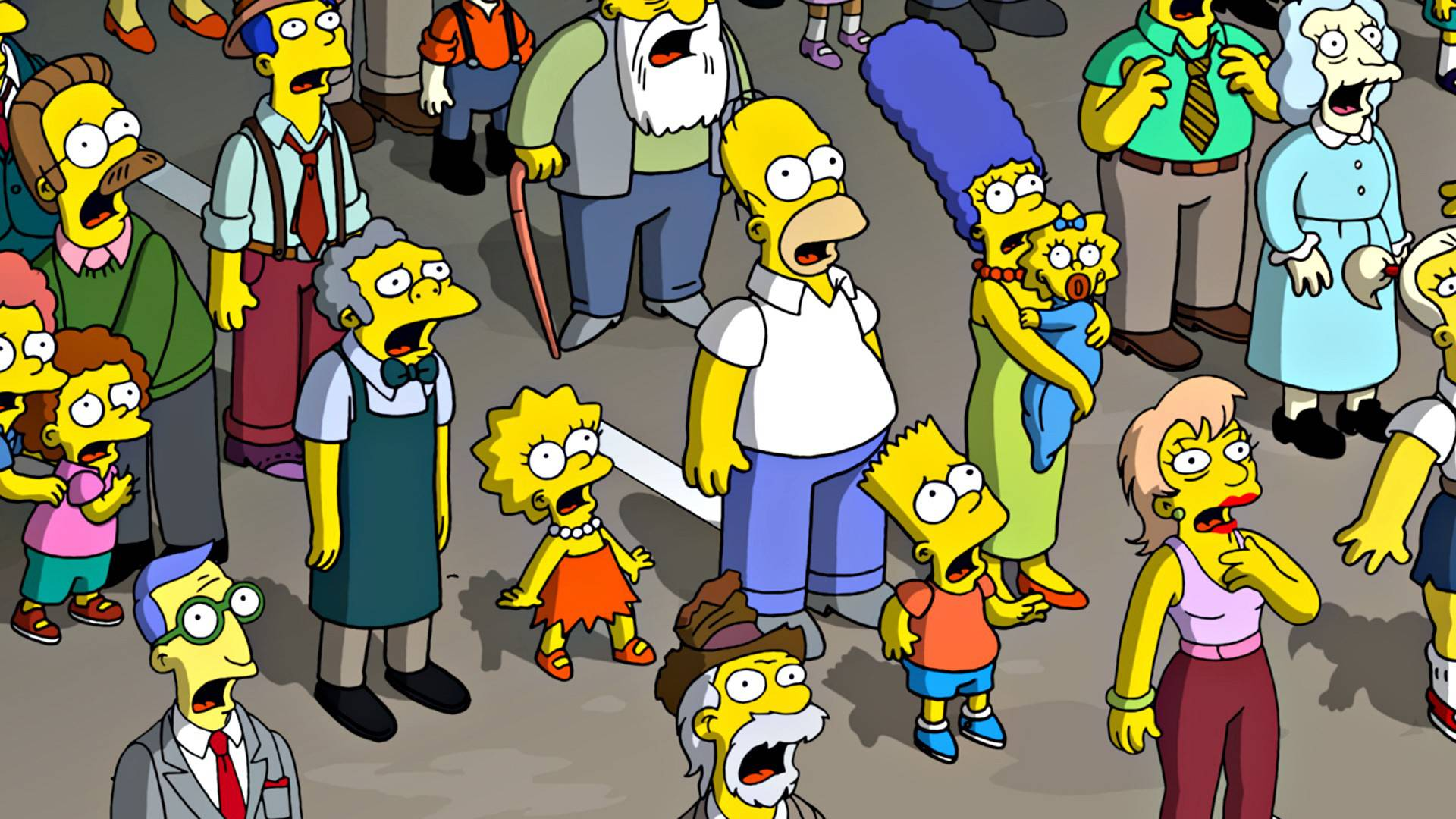 The Simpsons Wallpaper Desktop
