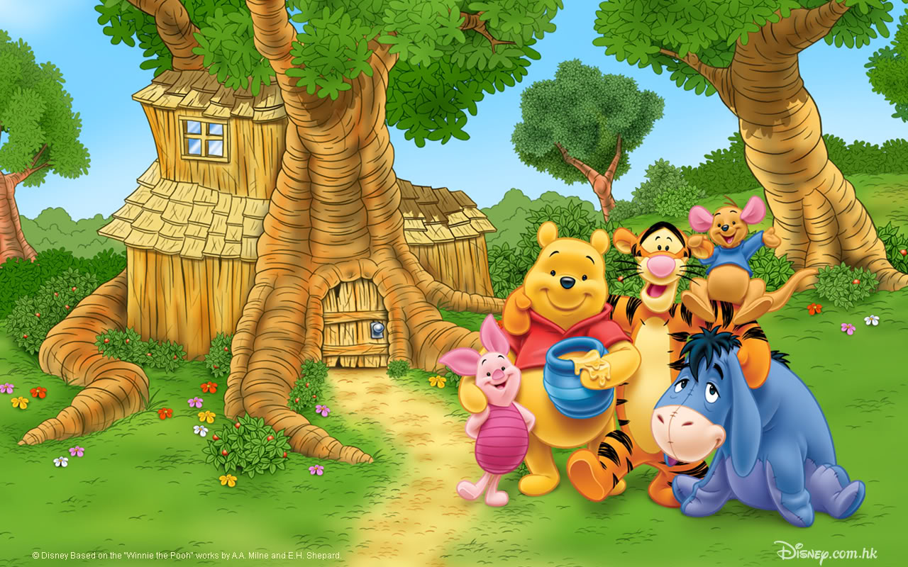 Winnie The Pooh Wallpaper Widescreen HD
