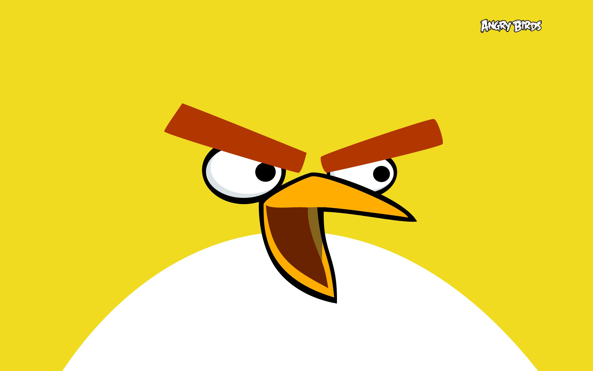 Yellow Angry Bird Wallpapers