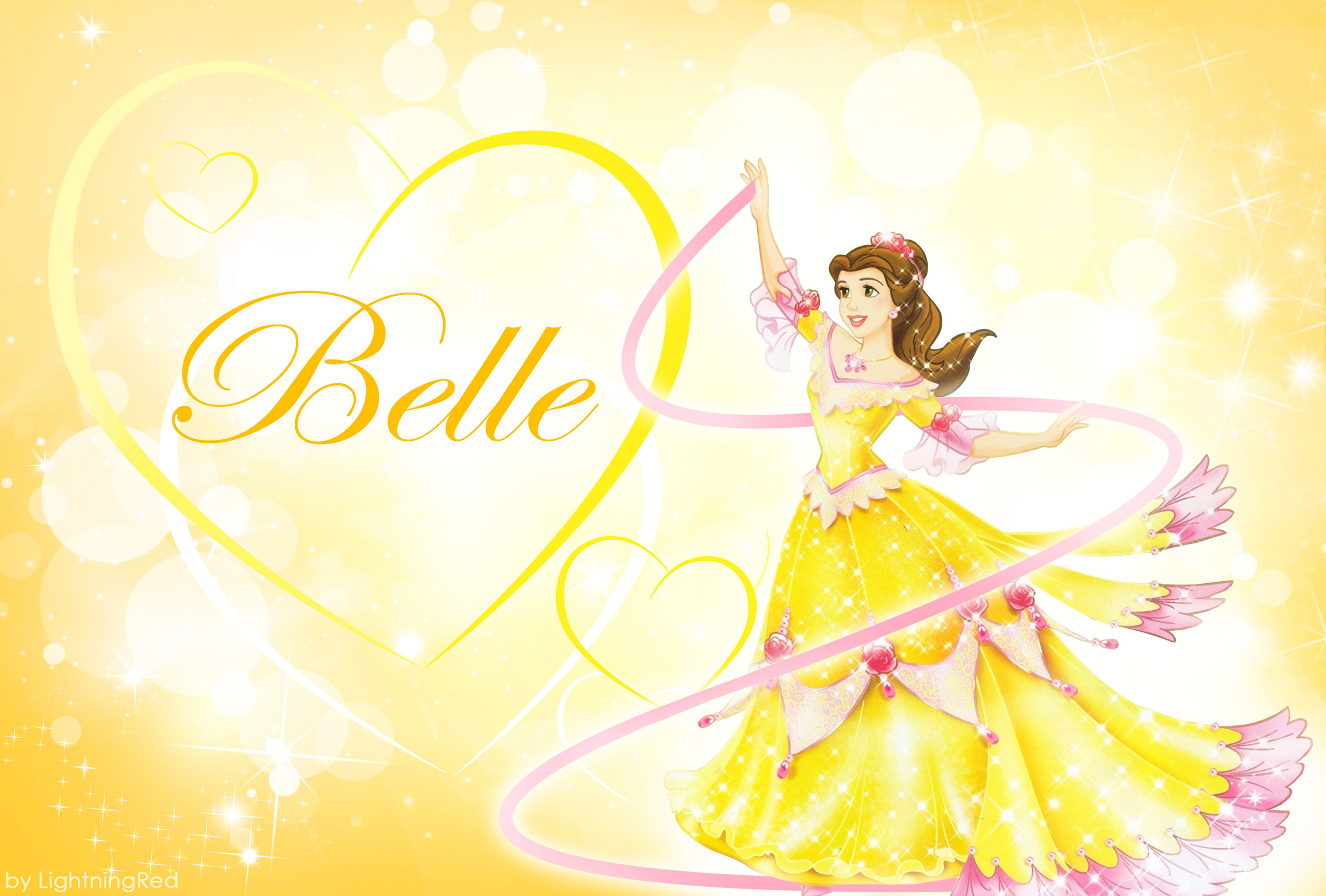 Yellow Princess Wallpaper 2560