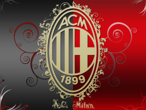 Ac Milan Logo Wallpaper Awesome Design