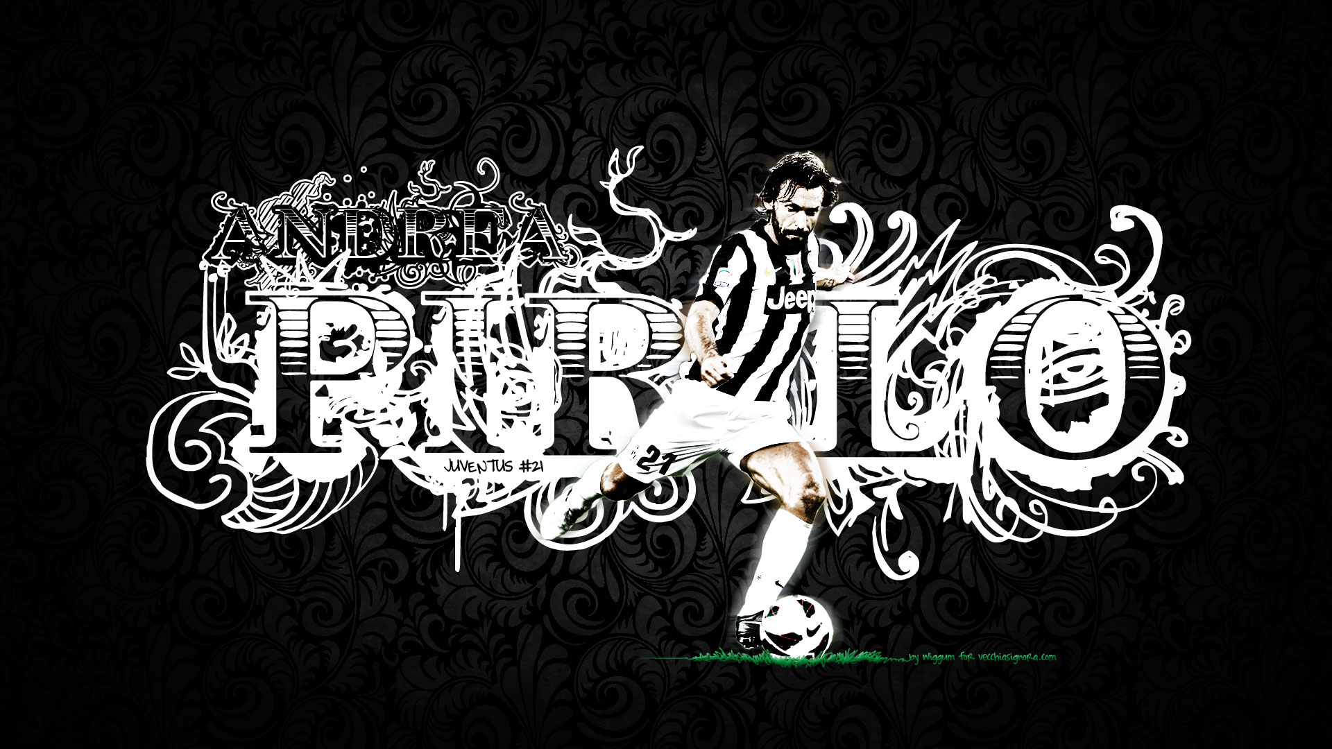 Andrea Pirlo Leader Juventus Wallpaper