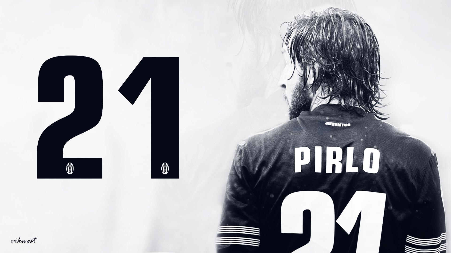 Andrea Pirlo Wallpaper Background Juventus