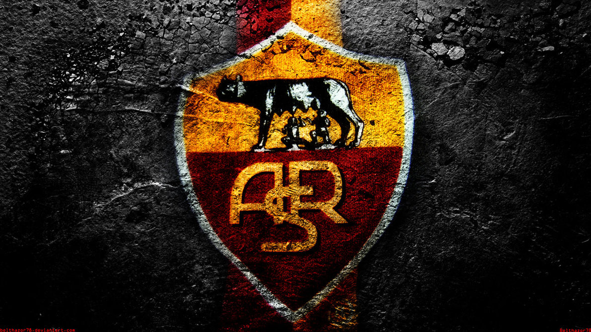 As Roma Wallpaper Logo Widescreen