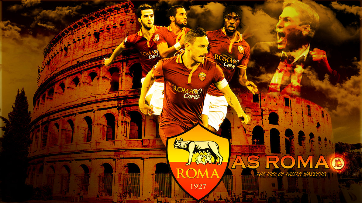 As Roma Wallpaper Squad 2015