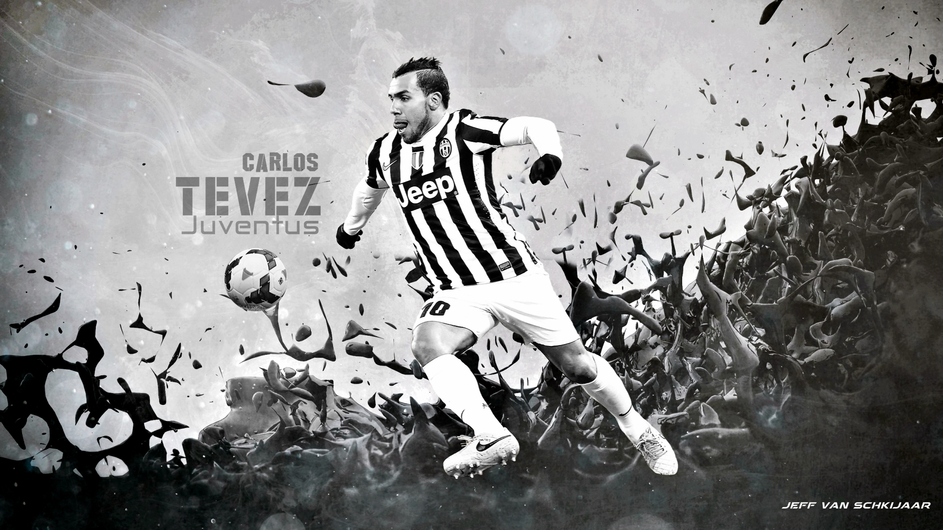Carlos Tevez Wallpaper 2014 HD