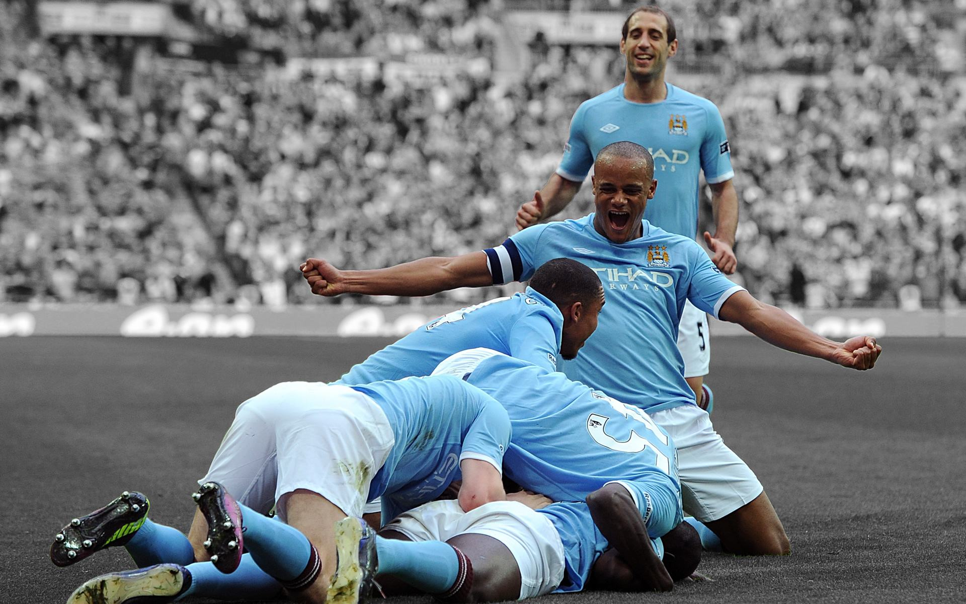 Celebration Manchester City Wallpaper 1920×1200