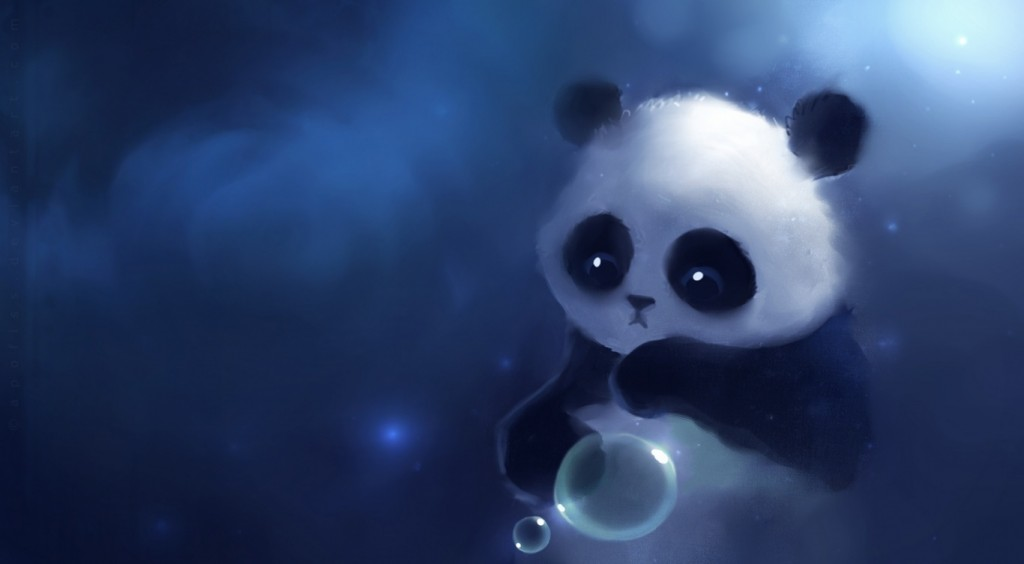 Cute Wallpaper Panda Anime