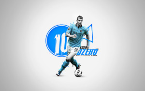Edin Dzeko Wallpaper Manchester City 2015