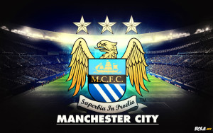 Football Logo Manchester City Wallpaper