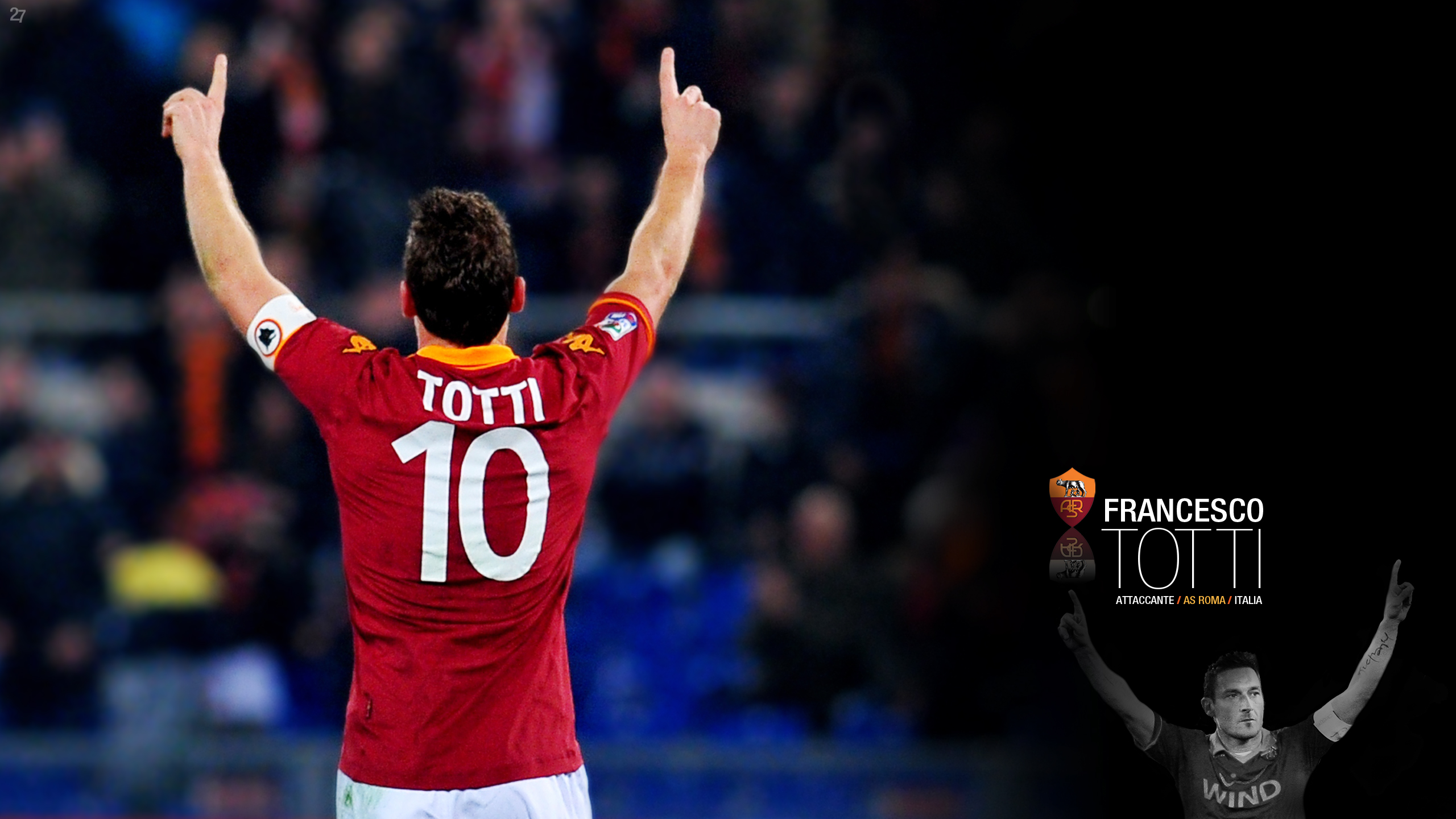 Francesco Totti Captain Wallpapers HD