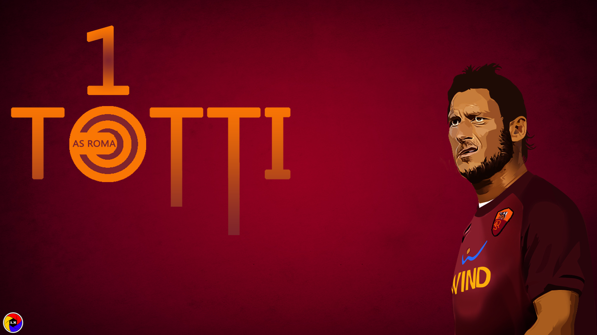 Francesco Totti Cartoons Wallpaper HD
