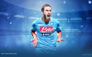 Higuain Napoli Wallpapers HD