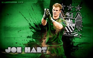 Joe Hart Manchester City Wallpaper