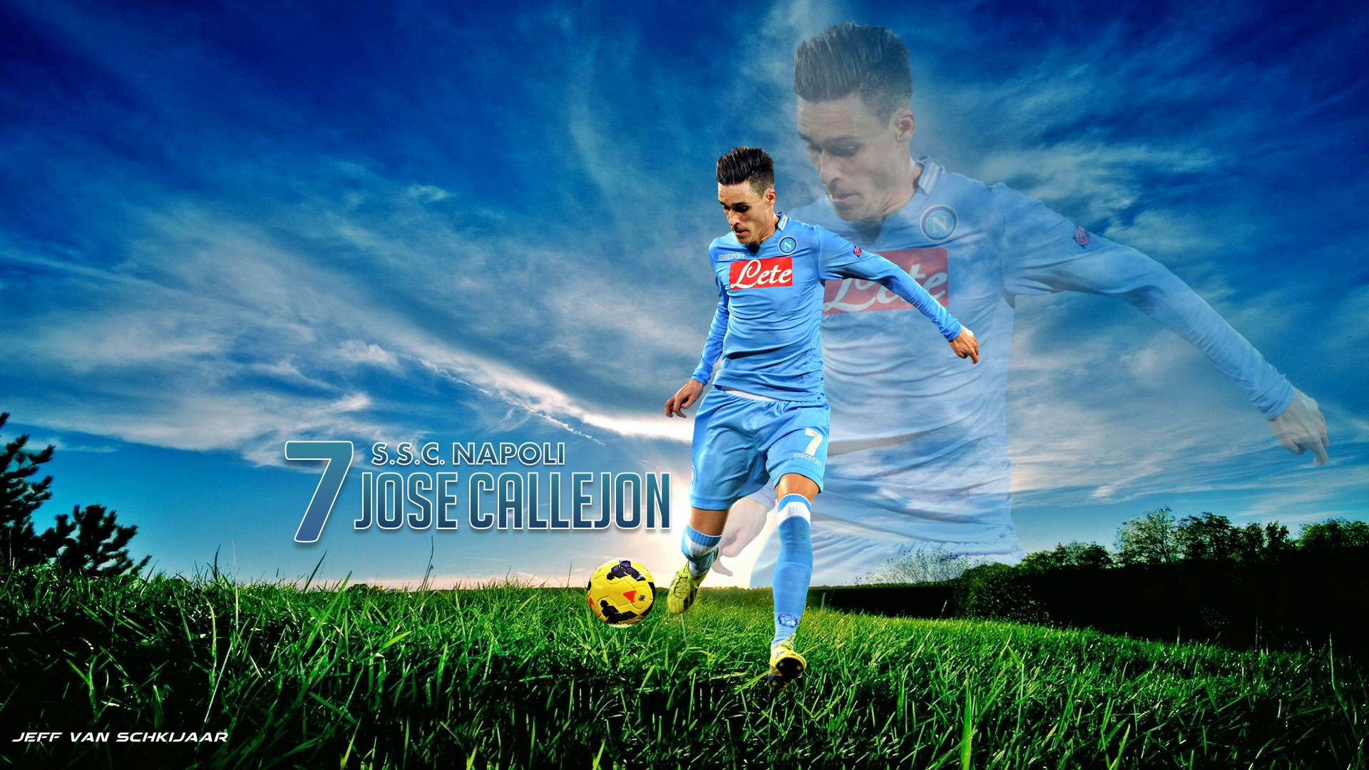 Jose Callejon Napoli Wallpaper 2015 hd