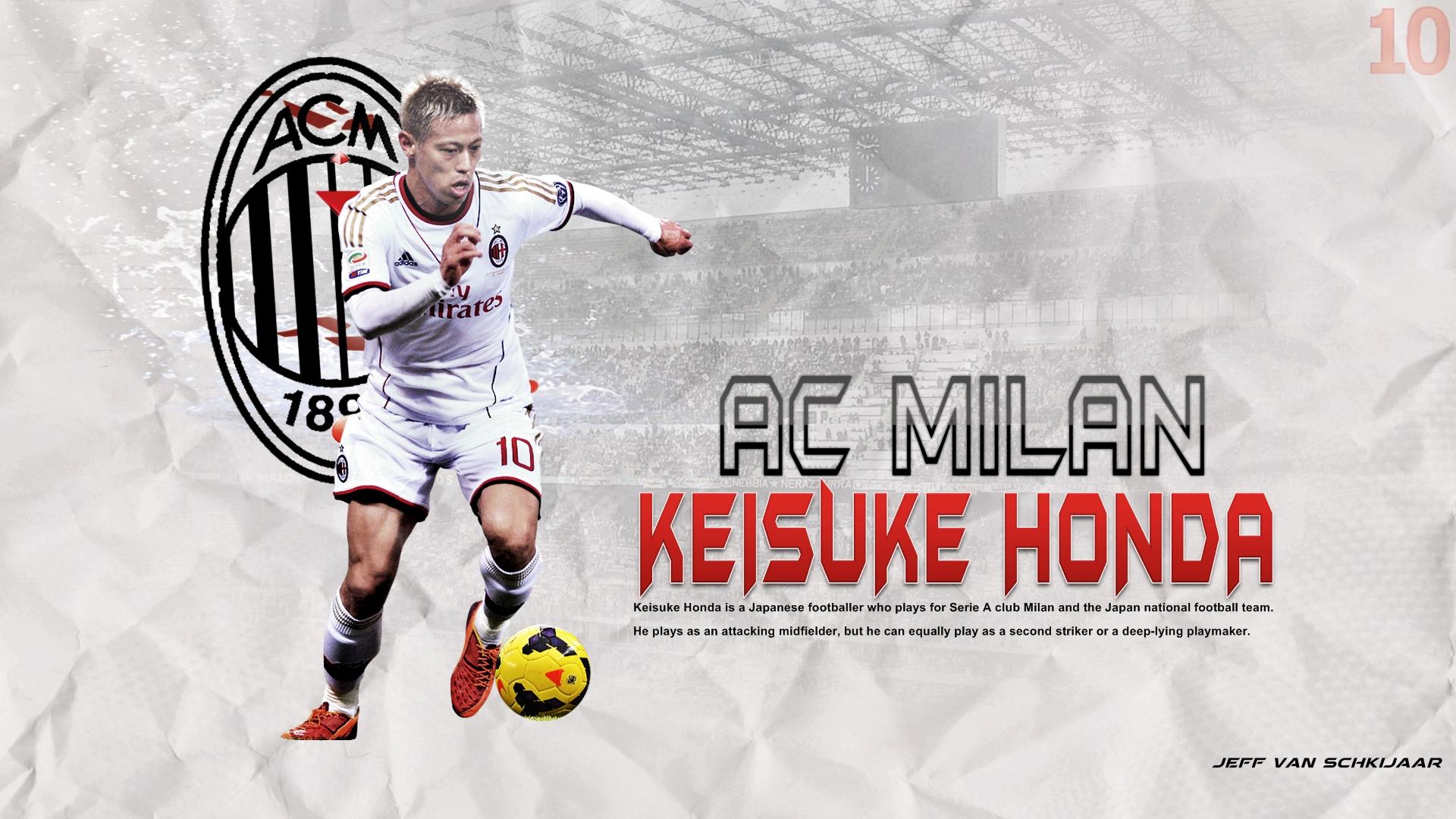 Keisuke Honda Ac Milan Wallpapers 2015 HD