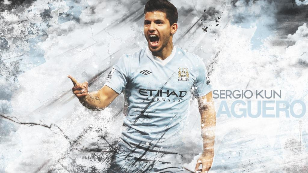 Kun Aguero Manchester City Wallpapers